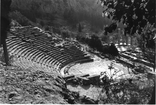 Grèce, Delphes, antiquité