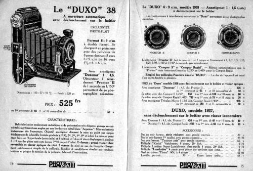 appareils 6x9,duxo